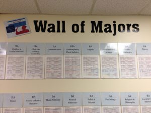 Wall of Majors