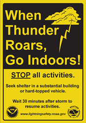 What To Do In Case Of A Thunderstorm Campus Security