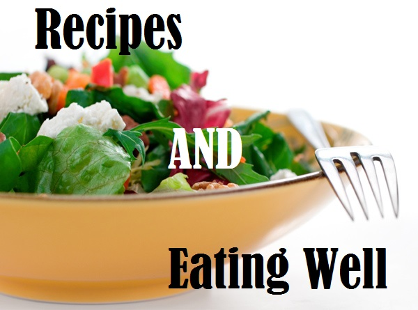 Recipes & Eating Well title